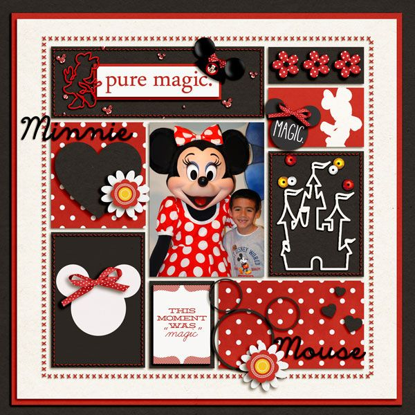 MINNIE29 - MouseScrappers - Disney Scrapbooking Gallery