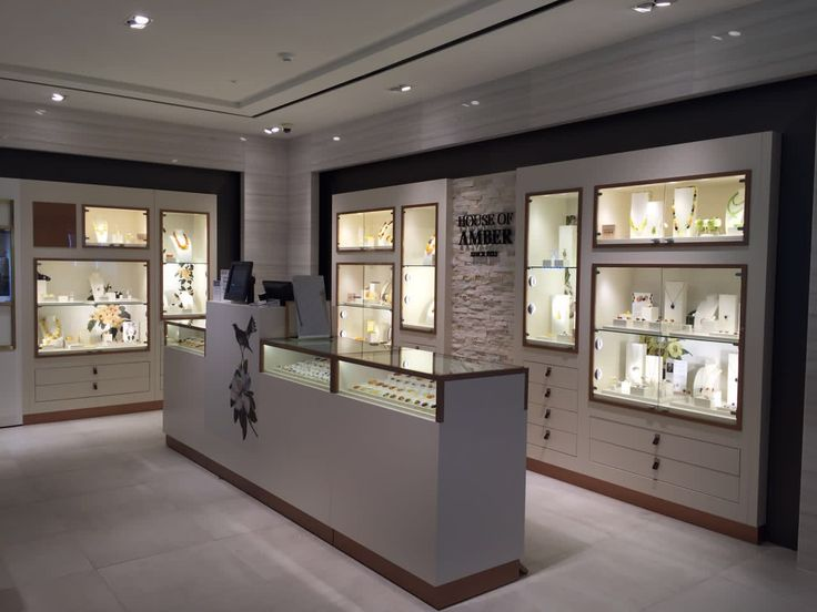 House of Amber - Our shop in Shinsegae Myeong Dong Duty Free Shop in Seoul, Korea