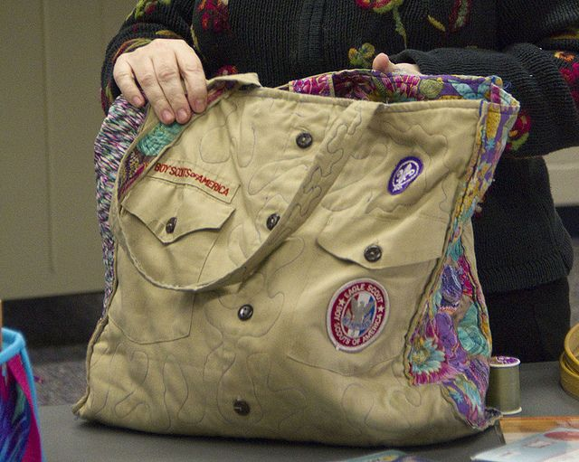 Rosemary's Boy Scout Bag by JessieAller, via Flickr