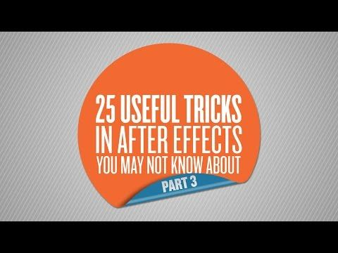 26 More After Effects Tricks That You Might Not Know - Lesterbanks