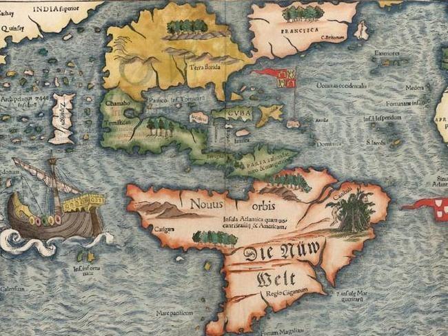 Mapas históricos mostram ilhas fantasmas