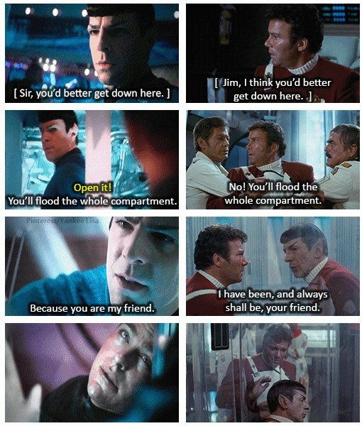 This is the greatest thing ever! Star Trek into the darkness