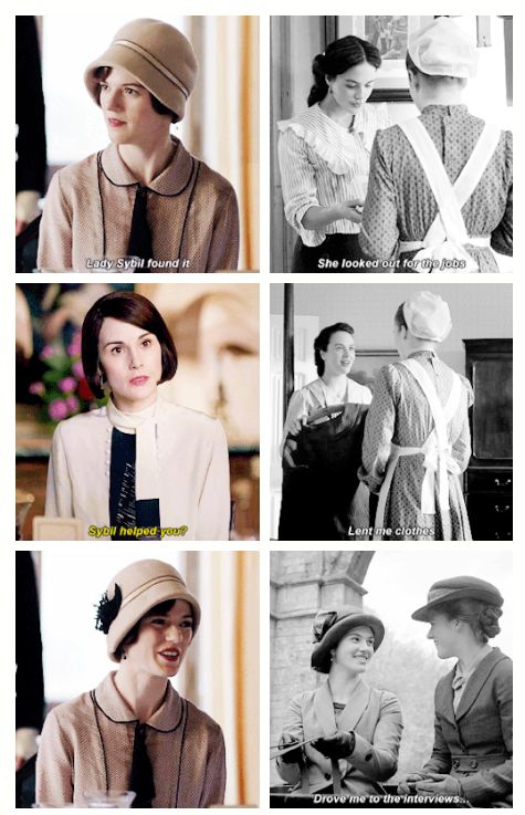 """Downton Abbey Season 6 ... … """"I'll never forget her. Her kindness changed my life."""" .."""