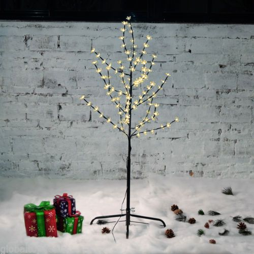 4ft warm white twig tree #pre-lit 108led #cherry blossom xmas #indoor/outdoor lig,  View more on the LINK: http://www.zeppy.io/product/gb/2/322323651078/