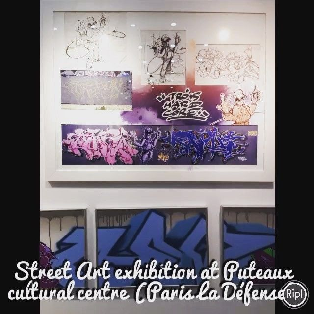 Art exhibition at Puteaux cultural centre. The centre also welcomes theatre plays, operas and musicals. To view their programme, check this link: www.culture.puteaux.fr