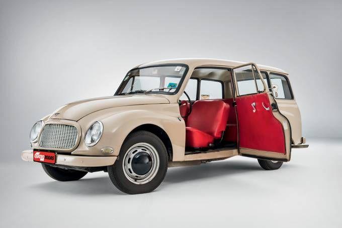 O modelo é o retrato de uma época em que o carro ainda era um bem de consumo restrito a um público exclusivo