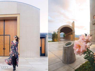 What to wear at Mission Hill Winery.  Ralph Lauren Denim and Supply maxi dress and Sam Edelman thigh high boots.  #styleblogger #ootd #styleinspiration #romantic #missionhillwinery #okanagan #winery @samedelman @ralphlauren