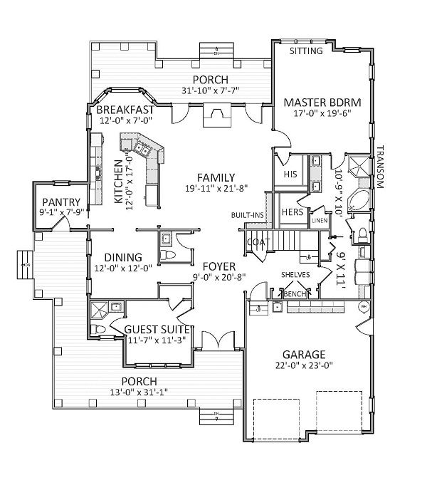 11 best ideas about new house plans on pinterest house for Brand new house plans
