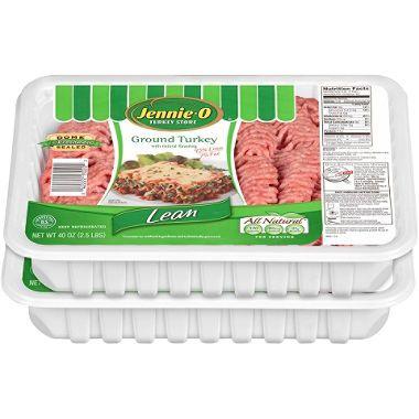 $12 Case Sale: Jennie-O Ground Turkey (2.25 lbs./ 4 per case) - Sam's Clu