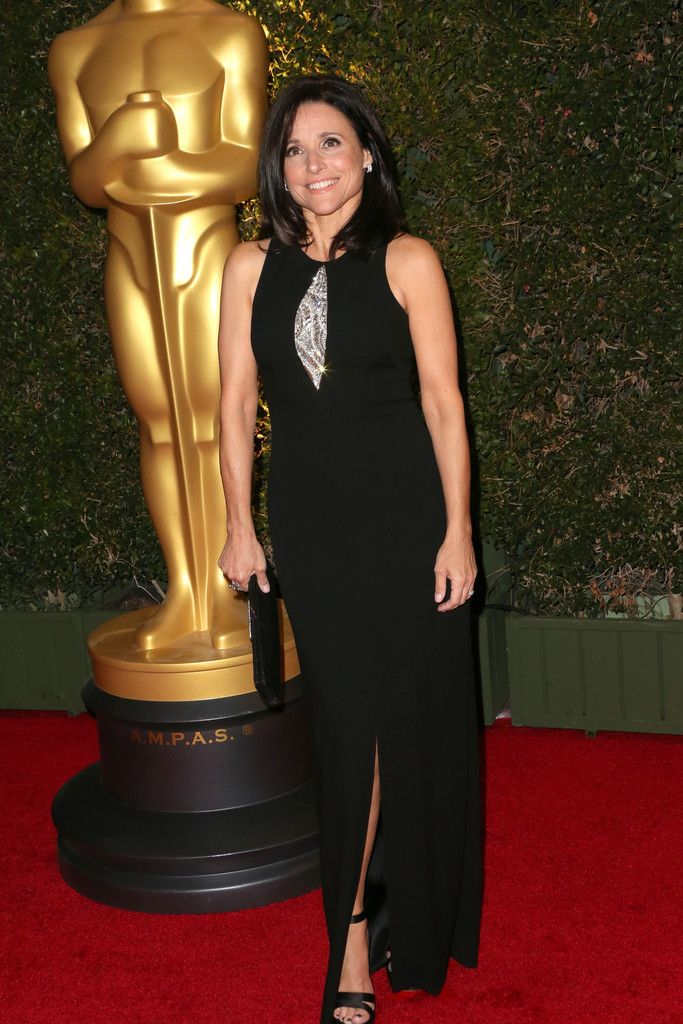 Fabulously Spotted: Julia Louis-Dreyfus Wearing David Meister - 2013 Governors Awards - http://www.becauseiamfabulous.com/2013/11/julia-louis-dreyfus-wearing-david-meister-2013-governors-awards/