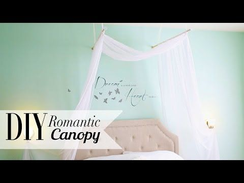 Love love love! Definitely trying this one. My version of it coming soon #DIY Romantic Bedroom Canopy by ANNEORSHINE