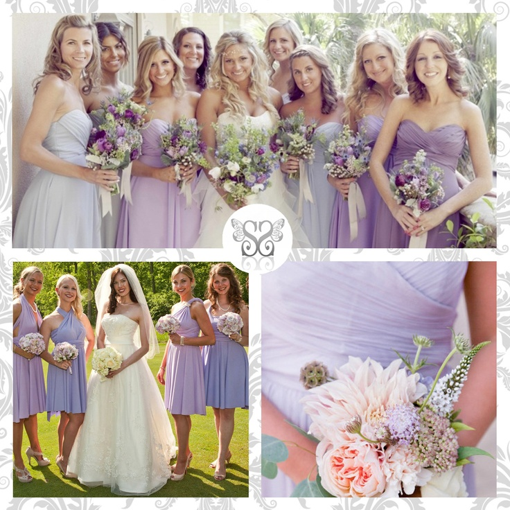 Lilac Bridesmaids - Damigelle d'onore color lilla