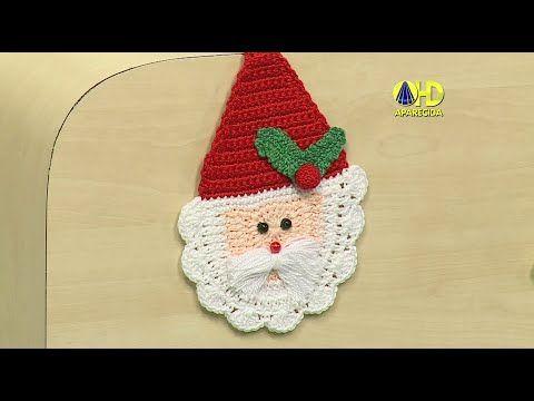 Vida com Arte | Enfeite Natalino em Crochê por Denise Lopes - 14 de Novembro de 2014 - YouTube