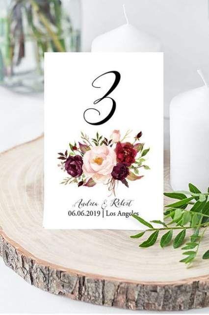 41 Ideas For Wedding Table Chart Flower Wedding Table Pink Wedding Table Decorations Diy Fun Wedding Decor