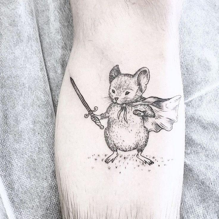 Whimsical Black Tattoos – Fubiz Media