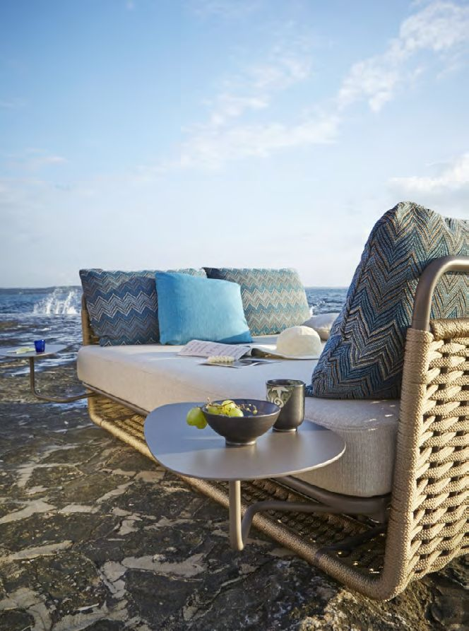 Rope garden bed Portofino Collection by Roberti