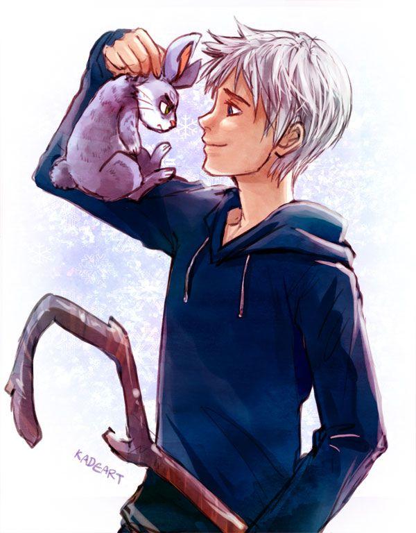 Jack Frost vs Bunnymund by Kadeart0.deviantart.com