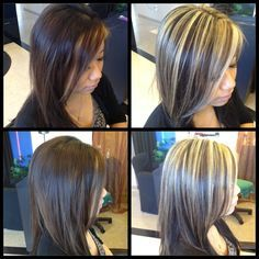 Chunky highlights, Highlights and The head on Pinterest