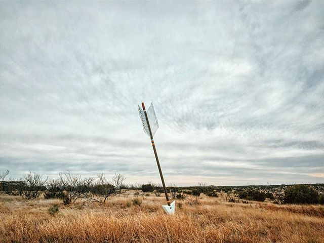Just before the gates of Palo Duro Canyon State Park, you will see a giant arrow sticking out of the ground. A lot of you have seen them around the panhandle. These simple sculptures mark the Quanah Parker Trail. Every arrow represents a connection to Chief Quanah Parker and the High Plains Native Americans. This arrow reminds us that Palo Duro Canyon was a sanctuary and home to Native Americans for many years.