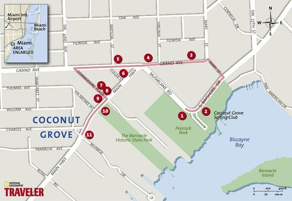 Miami Walking Tour: Coconut Grove
