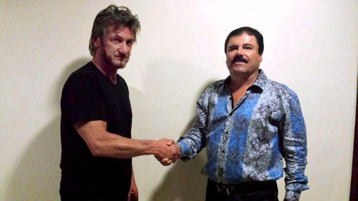 Sean Penn y Joaquín 'el Chapo' Guzmán. //Foto: Rolling Stone