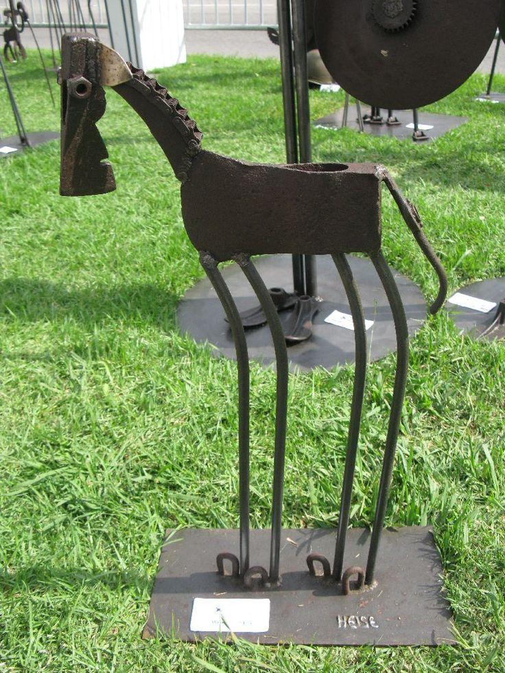 Metal Horse made by Heise Metal Sculpture