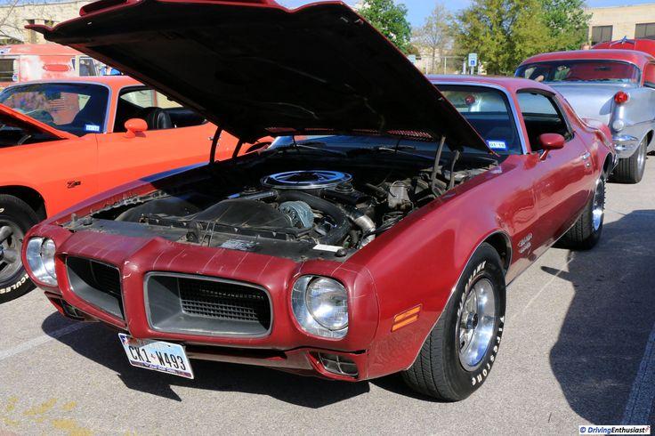 1970 Pontiac Firebird, as shown at the March 19, 2017 Round Rock TX USA car show.