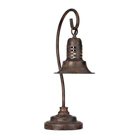 Antique Brown Metal Task Lamp | Kirklands