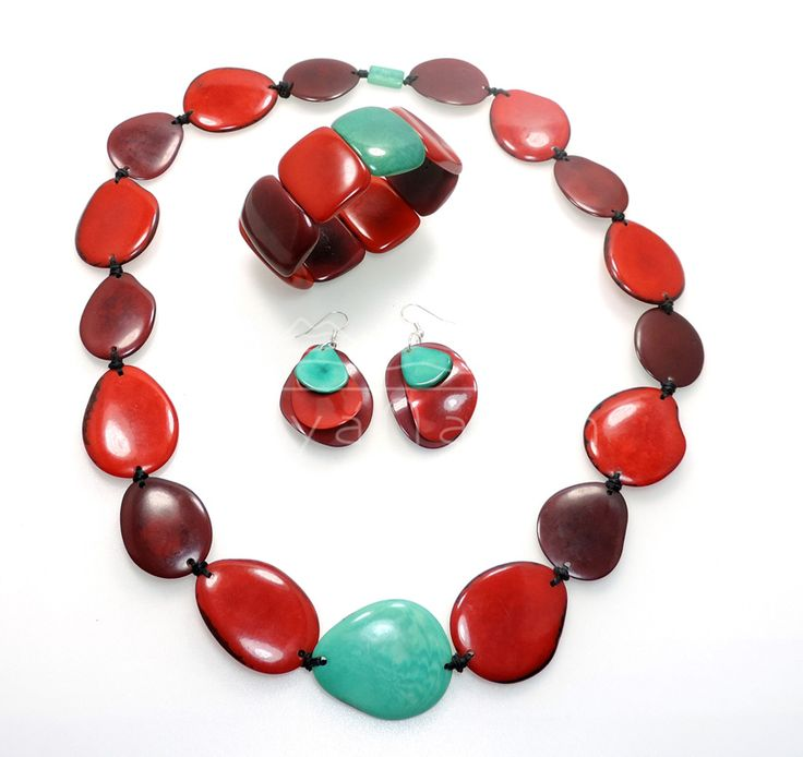 The Contrast Collection, elegant Tagua Jewelry
