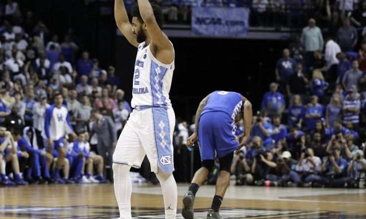 North Carolina takes one more step toward redemption = The last 4.7 seconds of the 2015-16 college basketball season are still fresh on the minds of every North Carolina player. We all know how it ended. Throughout this season, and even more so lately, multiple Tar Heels have pointed to Kris Jenkins' buzzer-beater in last year's national championship game as a source of motivation to get back to the Final Four. UNC entered Sunday with just one barrier separating it from that goal, and…