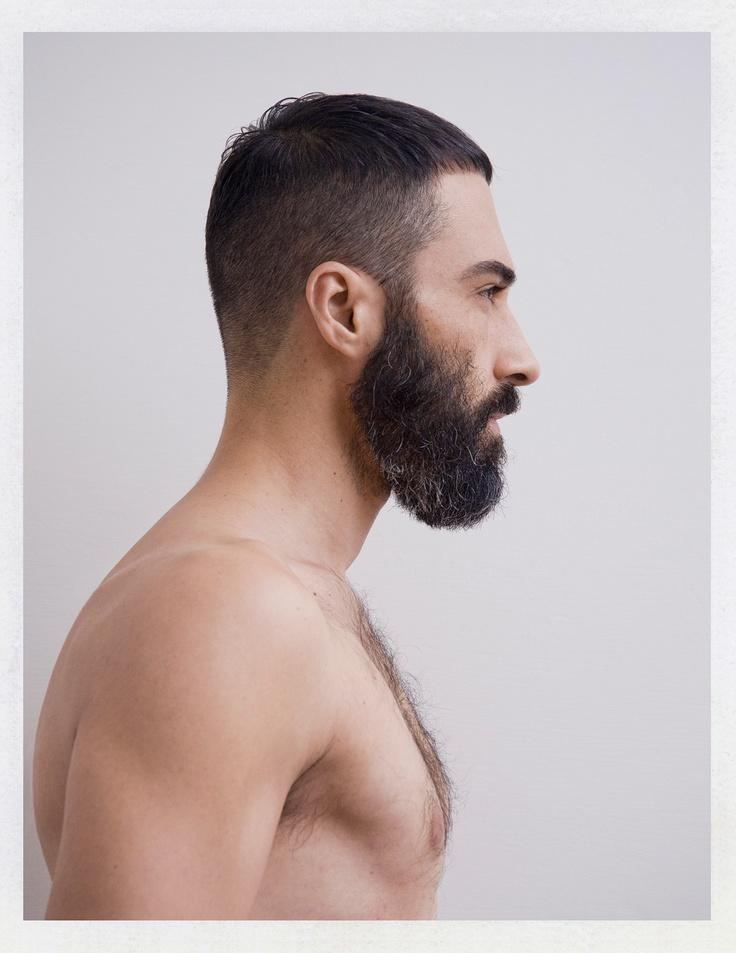 like the neat cropped hair and rocking beard goatee s