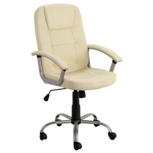 Buy walker office chair ivory at visit to shop online for office Argos home office furniture uk