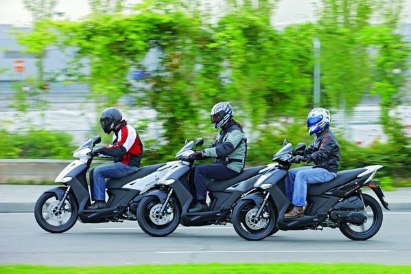 Kymco scooters 50cc, 125cc, 150cc, 250cc, 500cc
