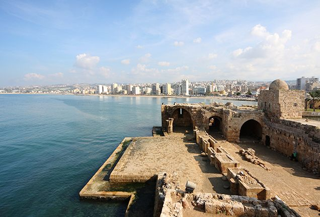 Explore the beautiful sites of Ramadan: The Sidion Sea Castle, less than an hour from @FSBeirut is believed to date back to the 13th Century.