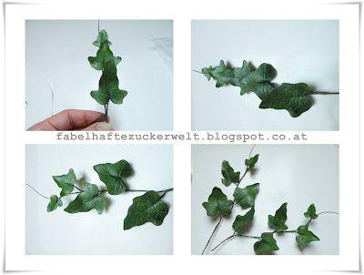 ivy tutorial http://fabelhaftezuckerwelt.blogspot.co.at/2012/07/efeu-ranken.html