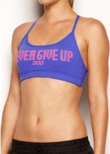 Motivational sports bra #realfantasyhelp