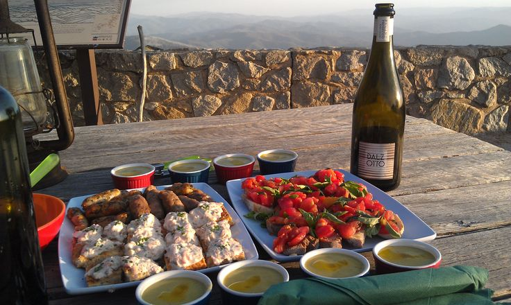 Unforgettable sunset dinner on the highest point of Mount Buffalo - the Horn