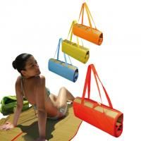 Fold-up beach mat with carry strap. www.ccpromos.co.za