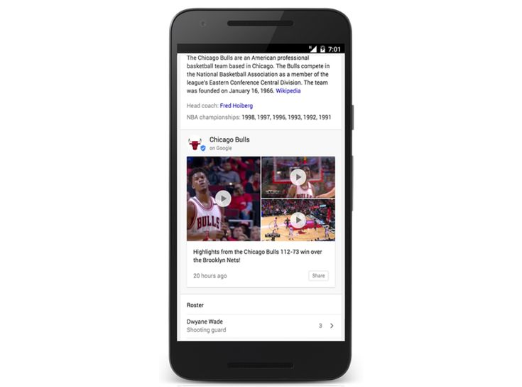 Google brings NBA and NHL real-time updates to Search and Newsstand