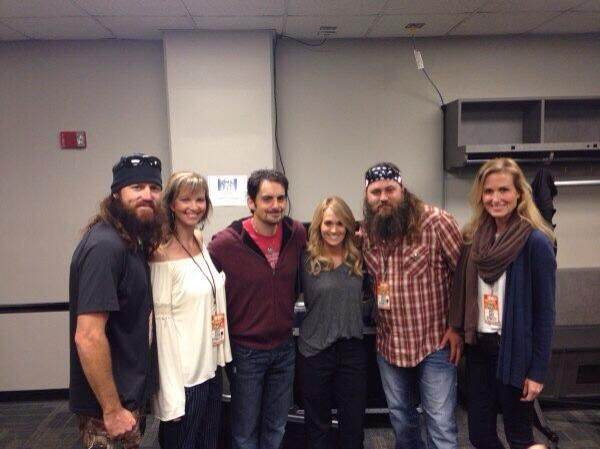 Beards with Brad and Carrie 2013 CMAs