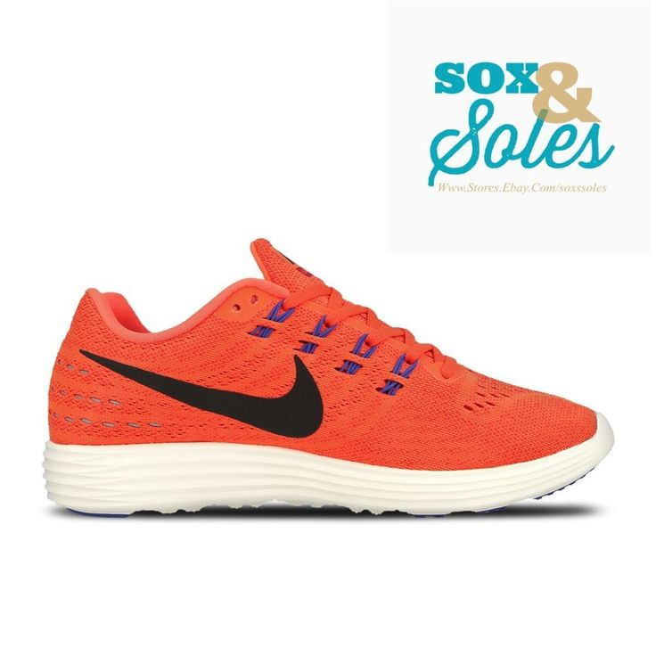 buy online 3fca2 fc524 ... max 2017 royal blå svart hvit logo sneaker bd858 8e93d 4a4bd 89bed   inexpensive spain nike lunartempo 2 shoes total crimson white 818097 800  size 13 ...