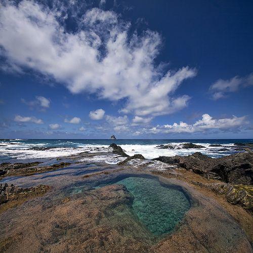 Porto Santo, piscinas naturais :))