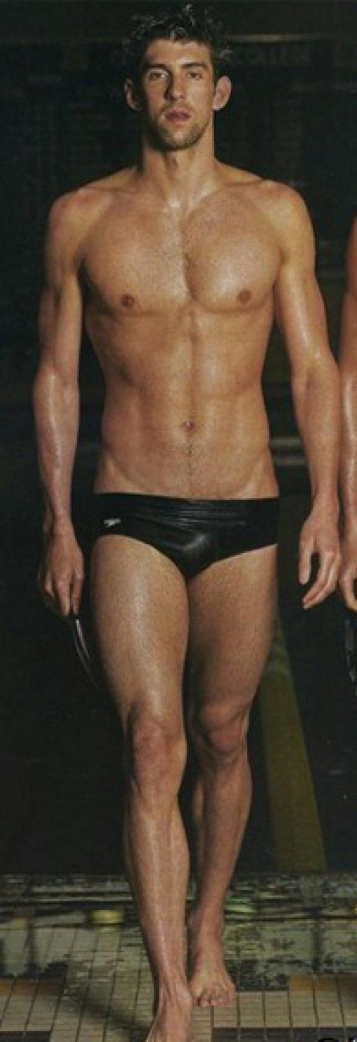 Sexy male swimmers first time they have a