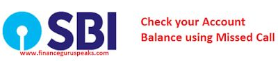 FINANCE guru SPEAKS! - Banking, Personal Finance, Investments, Mutual Funds: How To Check Your SBI Account Balance Using Missed...
