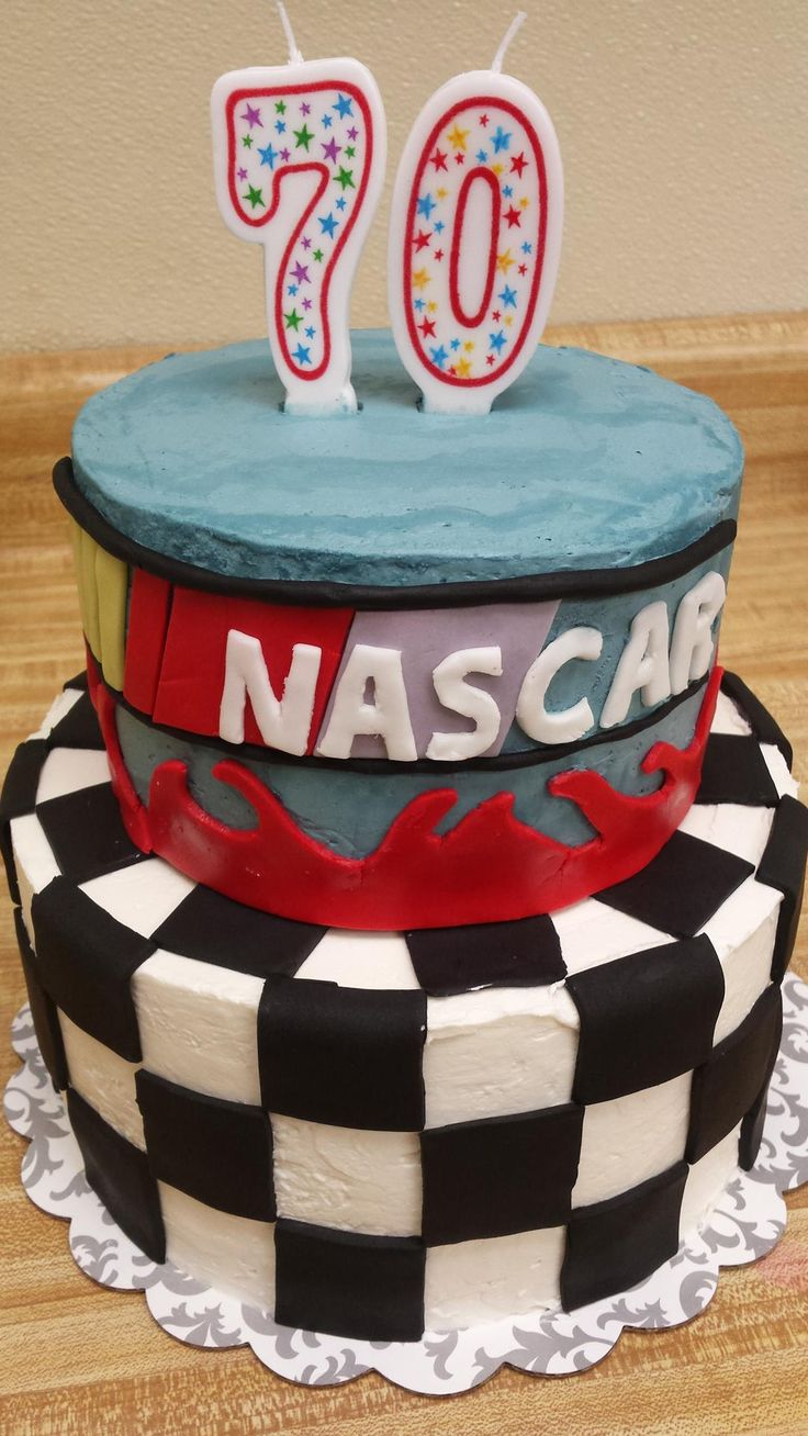 Nascar Birthday Cake For Scott