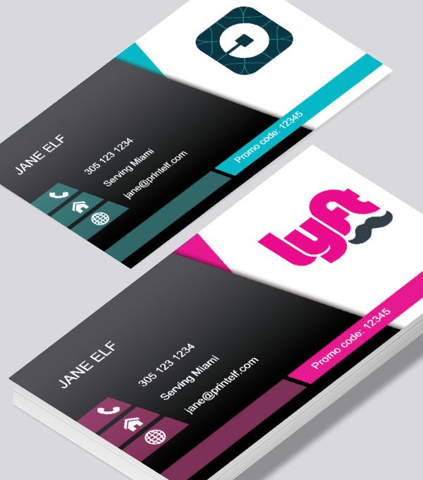 78 best freelance business card designs images on pinterest uber drivers need a business card to be reachable as a driver or your side business use our free templates to design your business card and print with us wajeb Images
