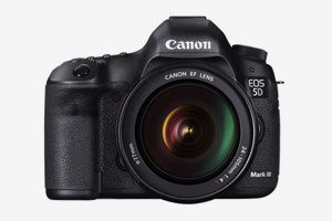 EOS 5D Mark III digital SLR by Canon