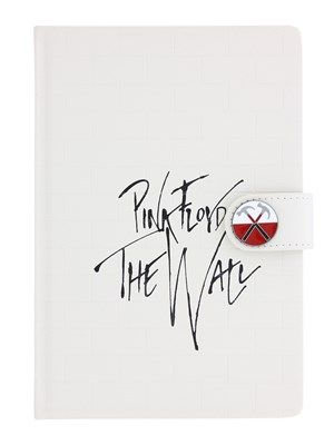 Calling all classic rock fans out there! This amazing Pink Floyd notebook is the perfect way to scribble down all those daily reminders, featuring the legendary artwork from the hit album 'The Wall'. Next time you head to work or school, make sure you take this awesome notebook with you. Official merchandise.
