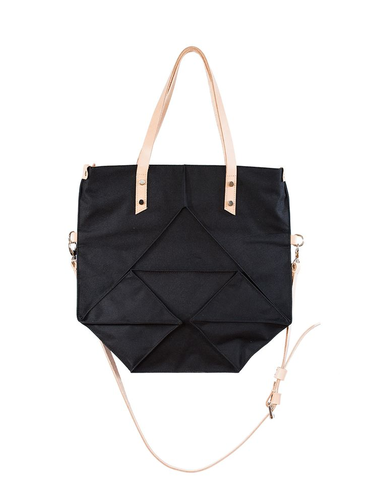 Ducsai Folded Bag Black from Designrs.co