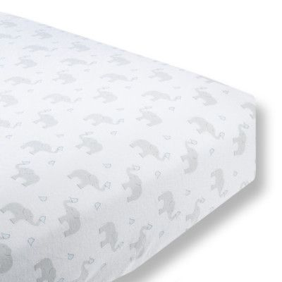 Swaddle Designs Elephant Amp Chickies Cotton Fitted Crib